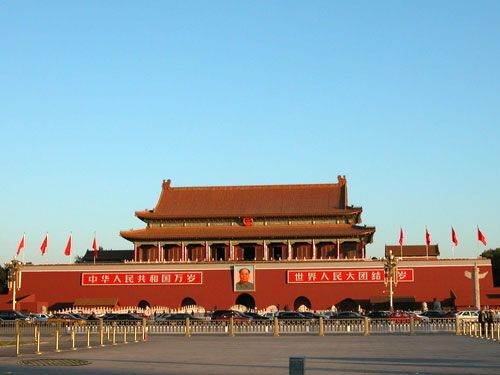 北京天安门